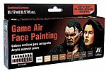 Face Painting Game Air Paint Set (8 Colors) -- Hobby and Model Paint Set -- #72865