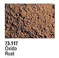Rust Pigment Powder (30ml) -- Paint Pigment -- #73117