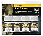 35ml Bottle Soot & Ashes Pigment Powder Set (4 Colors) (New Packaging) (Replaces #73199)