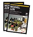 Model Air, Washes & Primers Hand Painted Color Chart -- Hobby and Model Paint Supply -- #cc971