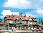 Moritzburg Station Kit -- HO Scale Model Railroad Building -- #3502