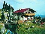 Alpine House Chalet Style Kit -- HO Scale Model Railroad Building -- #3702