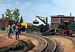 Coal Bunker Kit -- HO Scale Model Railroad Building -- #45719
