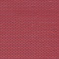 Red Brick Sheet (5) -- HO Scale Model Railroad Building Accessory -- #46033