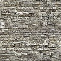 Stone Wall Sheet (10) -- HO Scale Model Railroad Building Accessory -- #46035