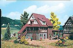 Farmhouse -- Z Scale Model Railroad Building -- #49531