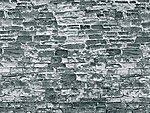 Stone Pattern Embossed Paper Natural Stone Gray -- HO Scale Model Railroad Scratch Supply -- #6055