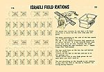Israeli Field Rations -- Plastic Model Detailing Accessory Kit -- 1/35 Scale -- #0033
