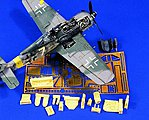 Fw190A Update Set -- Plastic Model Aircraft Accessory -- 1/48 Scale -- #0438