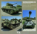 War Machines #4 Isreali M4 -- Authentic Scale Tank Vehicle Book -- #0555