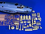 B17 Update Set -- Plastic Model Aircraft Accessory -- 1/48 Scale -- #0718