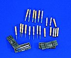 T55 Ammo & Crates -- Plastic Model Weapon Accessory -- 1/35 Scale -- #0726