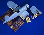 F4U Corsair Detail Set -- Plastic Model Aircraft Accessory -- 1/48 Scale -- #0729