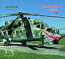 Lock On #16 Mi-24 HIND E -- Authentic Scale Model Airplane Book -- #0733