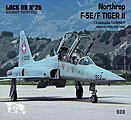 Lock On #26 F-5E/F -- Authentic Scale Model Airplane Book -- #0928