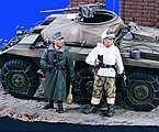 German Recon Squad -- Resin Model Military Figure Kit -- 1/35 Scale -- #1626