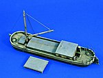 Small River Barge -- Resin Model Military Ship Kit -- 1/35 Scale -- #1679