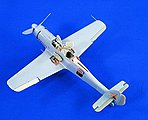 Fw190D9 Detail Set for HSG -- Plastic Model Aircraft Accessory -- 1/32 Scale -- #2029