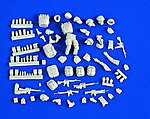 Modern US Iraq/Afghanistan Figure Conversion Set -- Resin Model Figure Kit -- 1/35 Scale -- #2177