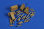 17-Powder Firefly Ammo & Boxes -- Plastic Model Weapon Kit -- 1/35 Scale -- #2548