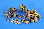 WWII USAAF Airbase Accessories -- Plastic Model Aircraft Accessory -- 1/48 Scale -- #2586