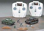 1/72 Tiger I/T34 IR Battle Tank Combo Set
