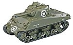 1/24 M4 Sherman IR Battle Tank Green 2.4GHz