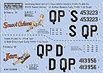 P51D Sweet Arlene, Jan -- Plastic Model Aircraft Decal -- 1/32 Scale -- #132006