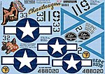 P47N Chautauqua, Red-E Ruth -- Plastic Model Aircraft Decal -- 1/32 Scale -- #132040