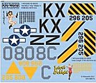 B26 Hamilton Hey Maker II, Idiot's Delight -- Plastic Model Aircraft Decal -- 1/48 Scale -- #148070