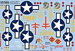 B25J Devil Dog, 1 For the Gipper -- Plastic Model Aircraft Decal -- 1/48 Scale -- #148097