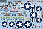 B25J The Ink Squirts, Pacific Prowler -- Plastic Model Aircraft Decal -- 1/48 Scale -- #148098