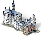 Neuschwanstein Castle, Germany (890pcs) -- 3D Jigsaw Puzzle -- #2005