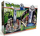 Downtown World Trade Foam Puzzle (875pcs) -- 3D Jigsaw Puzzle -- #2012