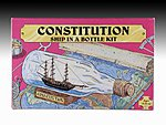Ship in Bottle Constitution Kit