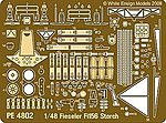 Fiesler Fi156 Storch Detail Set for TAM -- Plastic Model Aircraft Accessory -- 1/48 Scale -- #4802