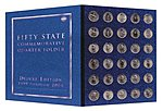 50 State Quarter 1999-2009 -- Coin Collecting Book and Supply -- #1582380783