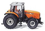 Farm Machinery Tractors Massey Ferguson MF8200 Orange -- HO Scale Model Railroad Vehicle -- #38504