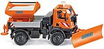 Unimog U 20 Road Maintenc - HO-Scale