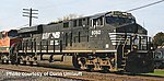 GE ES44AC Norfolk Southern #2 DC -- HO Scale Model Train Diesel Locomotive -- #10160