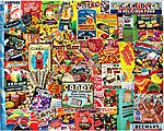 Penny Candy Collage Puzzle (550pc)