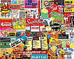 Snack Bar Collage Puzzle (1000pc)