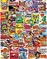 Cereal Boxes Collage Puzzle (1000pc)
