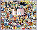 The 1990s Events & Famous People Collage Puzzle (1000pc)