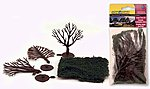 Large Trees Kit pkg(3) -- Scene-A-Rama(TM) -- Model Railroad Tree -- #4194