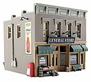 Lubener's General Store -- N Scale Model Railroad Building -- #br4925