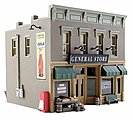 Built & Ready -- Lubener's General Store -- HO Scale Model Railroad Building -- #br5021