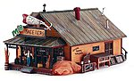 Mo Skeeters Bait/Tackle -- HO Scale Model Railroad Building -- #br5047