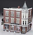 Davenport Department Store -- O Scale Model Railroad Building -- #br5847