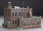 Morrison Door Factory -- O Scale Model Railroad Building -- #br5848